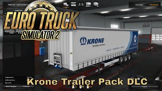 Euro Truck Simulator 2 Krone Trailer Pack DLC Review / quick look - Trailer Ownership is HERE!