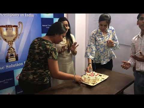 Farha's Birthday @Webpulse Solution (P) Limited, New Delhi