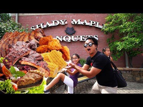 MASSIVE SMORGASBORD Shady Maple Buffet