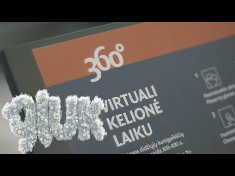 Palace Of The Grand Dukes in Lithuania in Virtual Reality