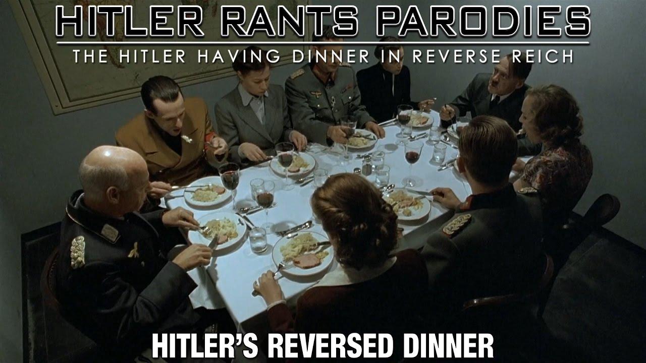 Hitler's reversed dinner