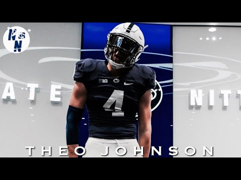Theo Johnson Junior Season Highlight Mix   ᴴ ᴰ   ||   2020 Penn State TE Target