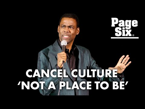 Chris Rock Blames Cancel Culture For our Humorless Society