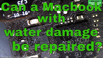 Can a Macbook with water damage be repaired?