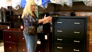 Mary explains how to describe where you store your clothes.
