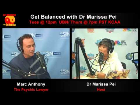 Mark Anthony the Psychic Lawyer® reads Dr Marissa like a Trial