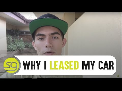 Why I Leased My First Car