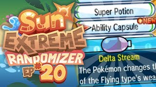 EXTREME ABILITY RANDOMIZING!! - Pokemon Sun Extreme Randomizer (Episode 20)