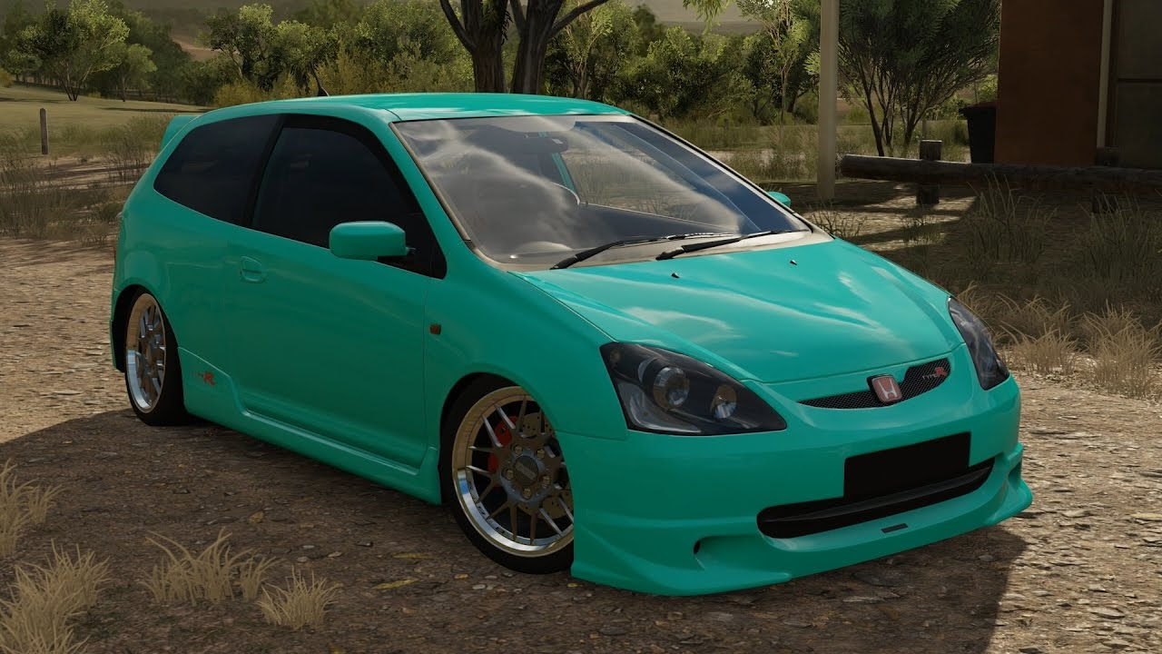 700hp Slammed Honda Civic Type R Ep3 Slammed Stance Build