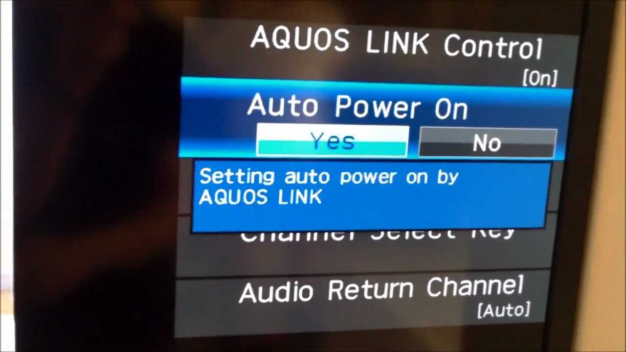 How To Setup Arc Hdmi Control Settings To Tv Youtube