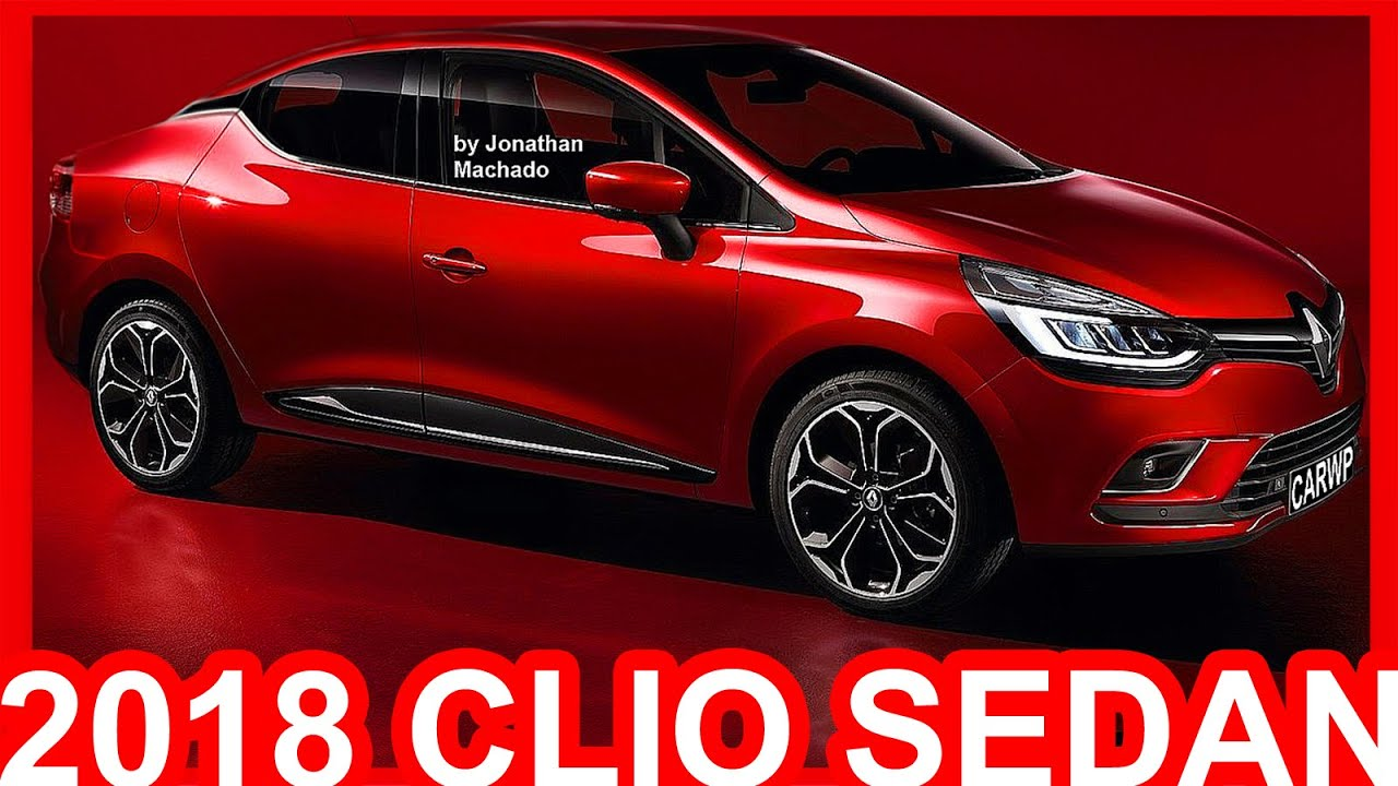 Novo Ford Focus 2018 >> PHOTOSHOP Renault Clio Sedan 2018 #Clio - YouTube