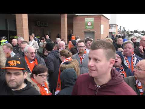 "BLACKPOOL Supporters Trust REMEMBRANCE DAY ""For the Fallen"" & Portsmouth Football Club ⚽ Oyston Out"
