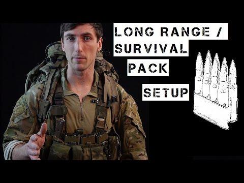 Basic Long Range / Survival Pack Setup