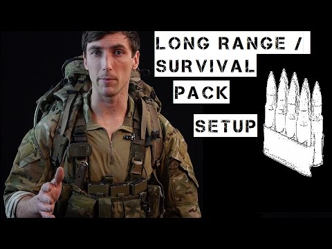 Basic Long Range / Survival Pack Setup