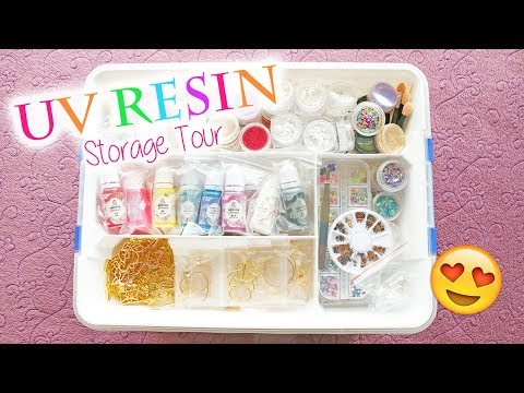 UV Resin Craft Storage Tour