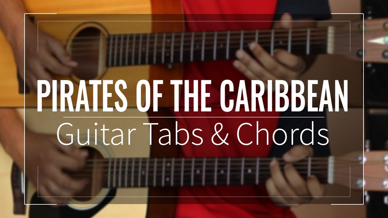 Pirates Of The Caribbean Hes A Pirate Guitar Tabs Lead