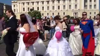 Парад невест.Санкт-Петербург