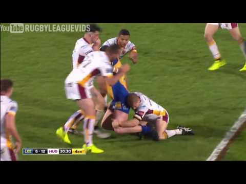 Leeds vs Huddersfield - Tries & Highlights - Leeds Rhinos 12-31 Huddersfield Giants