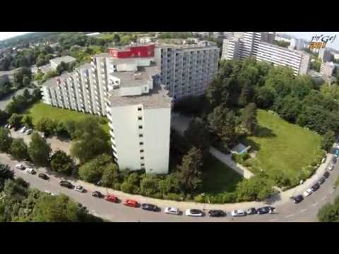 Quadrocopter Drohne FPV - Berlin Gropiusstadt