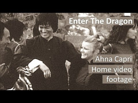 Home video footage by Ahna Capri - Behind the scenes of Enter The Dragon - Bruce Lee