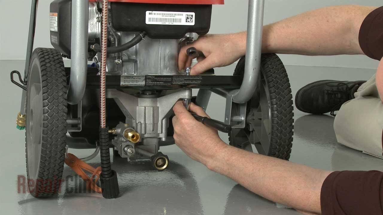 Homelite Pressure Washer: No Pressure? Replace Pump #308653052