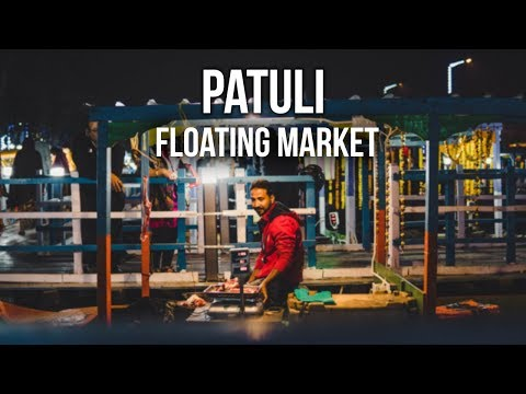 Floating Market in Kolkata - India's First - 4K