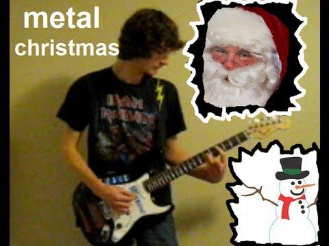 Heavy Metal Christmas Music Medley