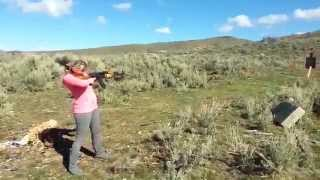 Survival ebooks owner shoots AK-47 for the third time by www.survivalebooks.com free ebooks