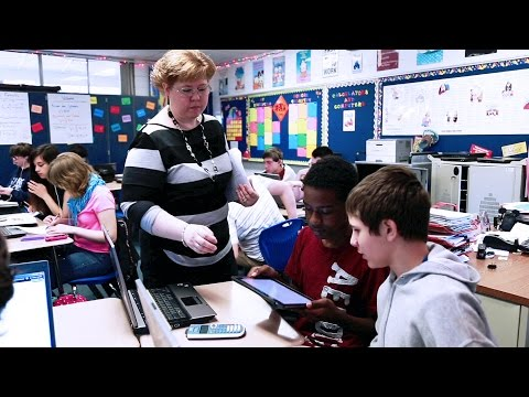 Blended Learning Working With One Ipad