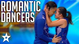 ROMANTIC ACROBATIC Dance Duo Impress All The Judges! | Got Talent Global