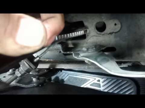 Cómo reparar el botón de la palanca del freno de mano - VochoTalacha