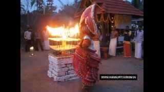 Theyyam Kathivanoor Veeran or Manthappan Theyyam