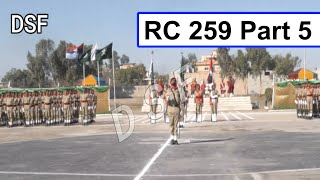 New Pakistan Army DSF Passing Out Prade RC 259 Part 5    DSF Prade    DSF Official