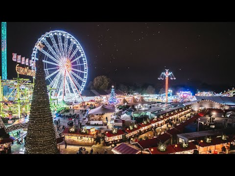 Hyde Park Winter Wonderland 2019 Travel Vlog