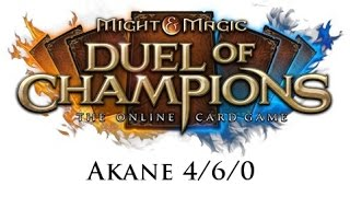 Might & Magic Duel of Champions - Akane 4/6/0 open - Wombo i skok w czasie?