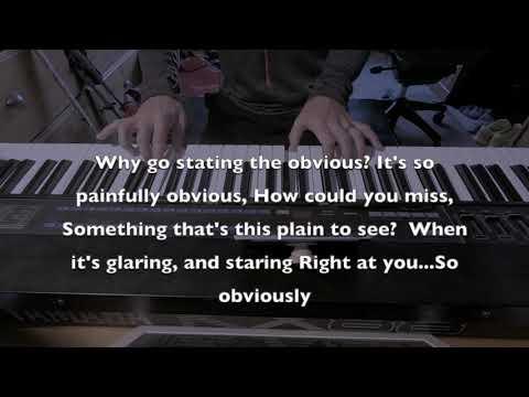 "Dear Evan Hansen - Cut Song ""Obvious"" Piano Backing Track"