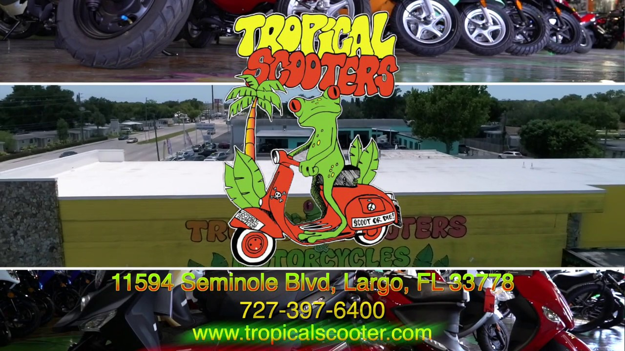 Tropical Scooter