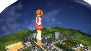 [MMD] Giantess Meiko Bigger than a Building! [大女]