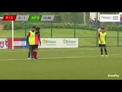 freekick of the week. Reliance founation RFYS