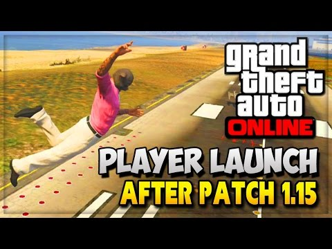 "GTA 5 Glitches Online - GTA V ""Funny Moments"" NEW Player Launch ..."