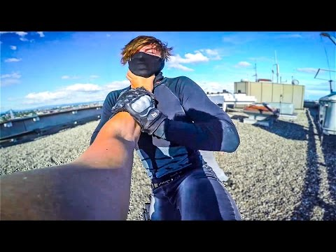 PARKOUR vs. SECURITY - MIRRORS EDGE CATALYST PARKOUR POV | GoPro HERO4