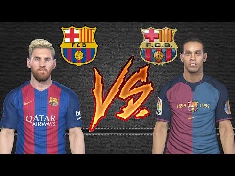 Classic Barcelona VS Barcelona #PS4