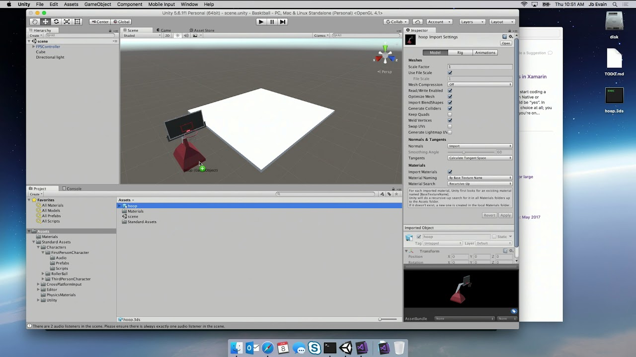 Episode 25: Unity Game Development with Visual Studio for Mac with