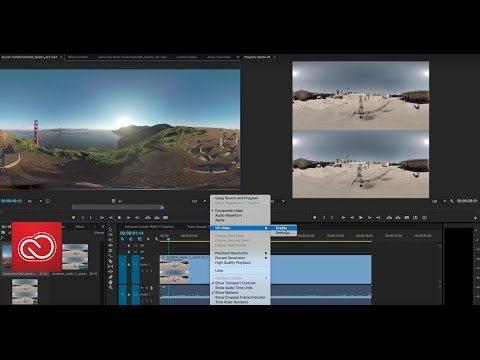 Coming To CC Video & Audio: VR Workflows In Premiere Pro | Adobe Creative Cloud