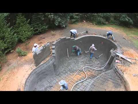 schwimmbad selber bauen pool selber bauen schwimmbad doovi. Black Bedroom Furniture Sets. Home Design Ideas