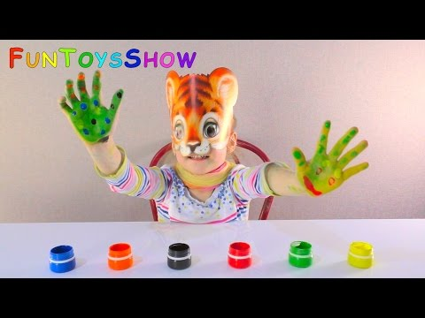 Thumbnail: Learn Colors with Colored Feet Finger Family Song for Children Toddlers and Babies | Nursery Rhymes