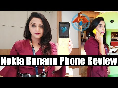 🇮🇳 Nokia 8110 4G Banana Phone Hands on review of specs, features, camera test, price in India