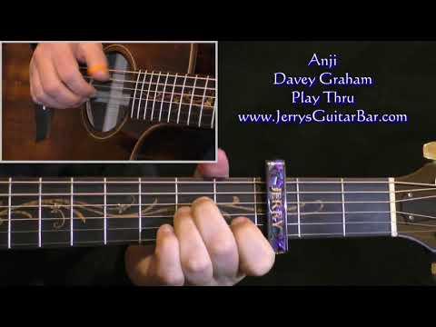 Cover of Davey Graham's Anji