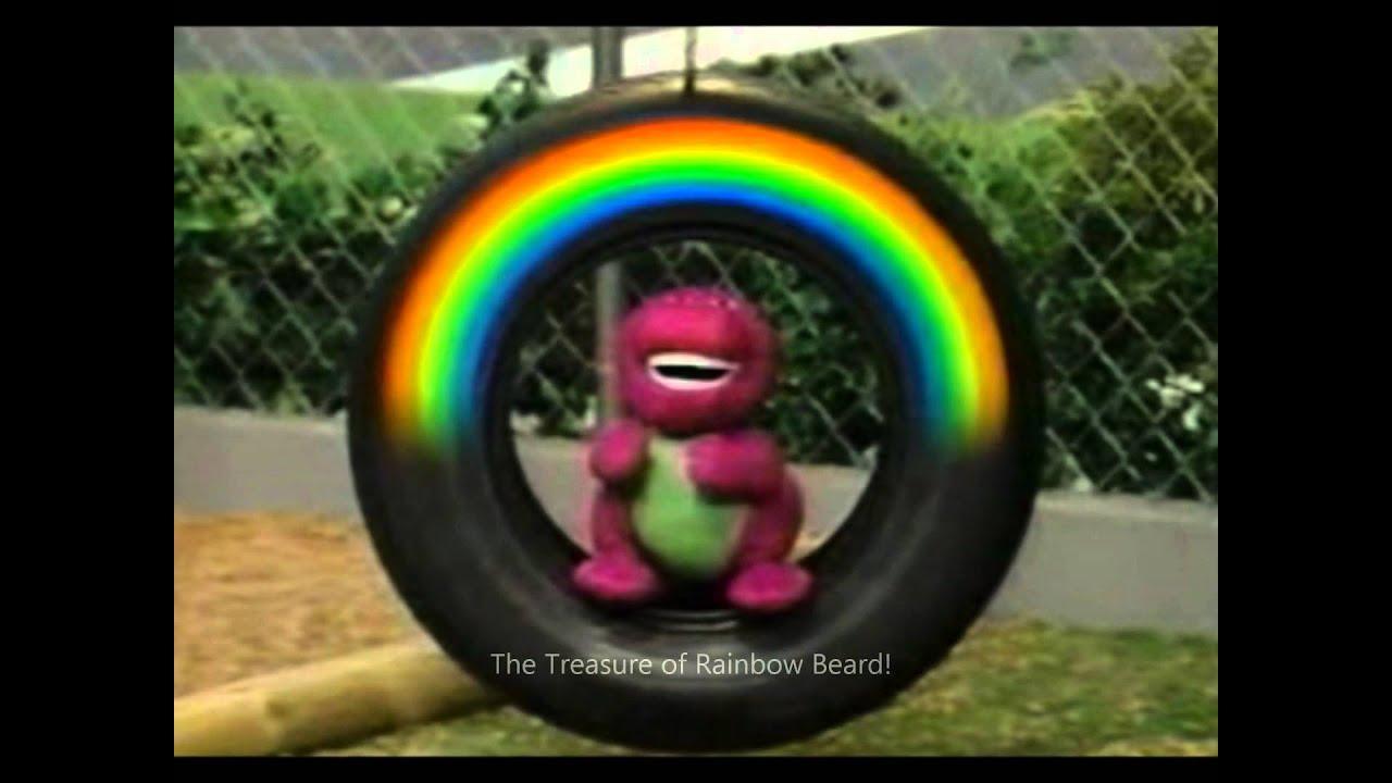 Treasure Rainbow Beard Barney Doll