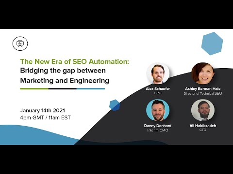 The New Era of SEO Automation: Bridging the gap between Marketing and Engineering